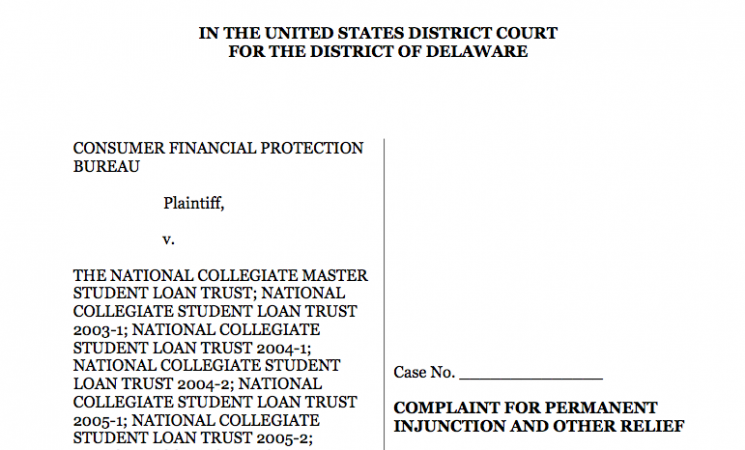 CFPB Action: Student Loans